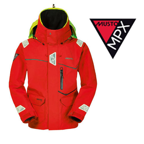Musto MPX Offshore Race Jacket Red Koko S