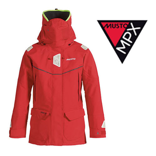 Musto MPX Offshore Jacket Women Red 10